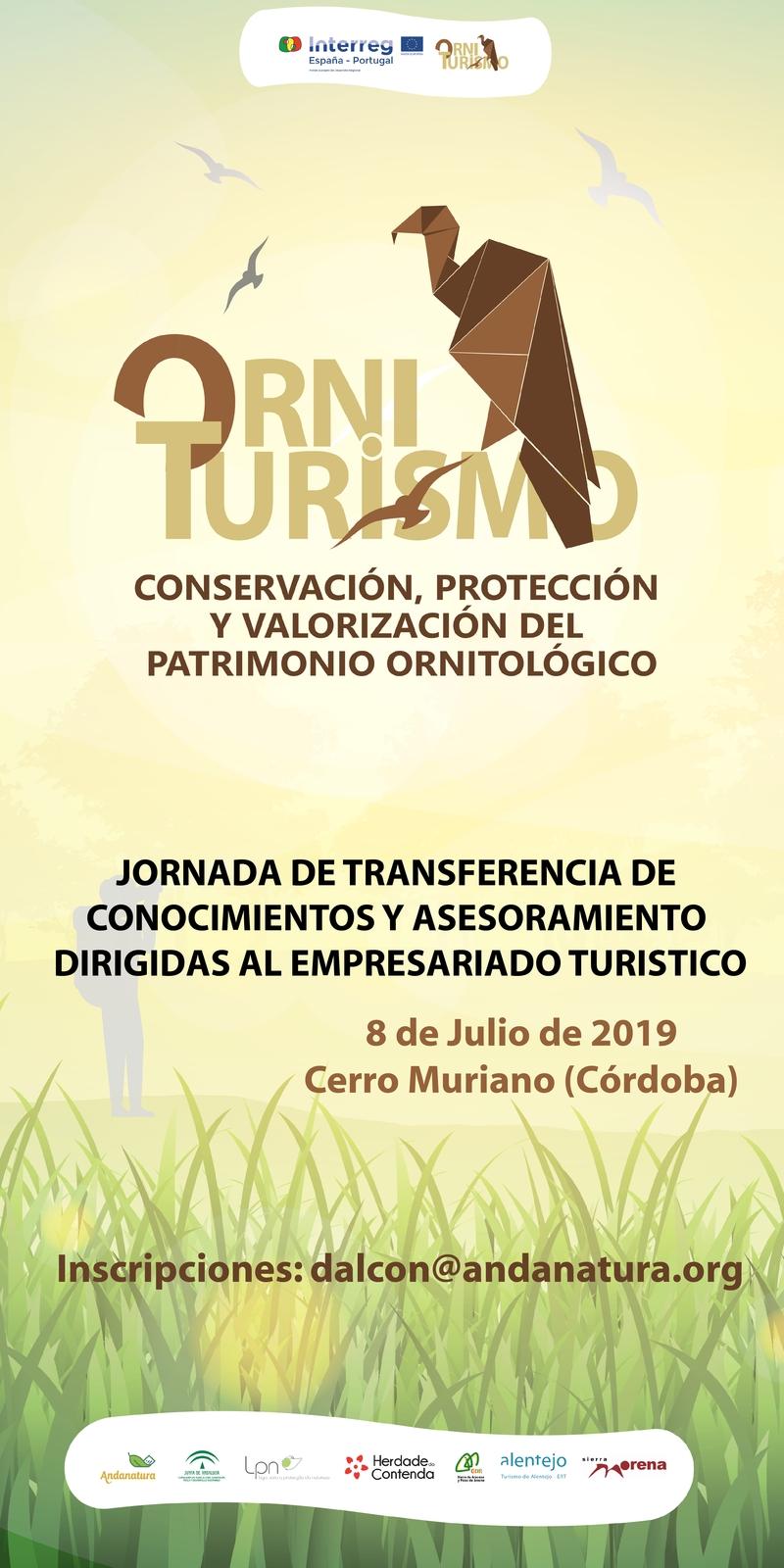 2ª Jornada de transferencia y Asesoramiento para las empresas turísticas (8 de Julio, Cerro Muriano)