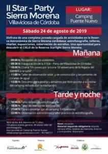 II Star Party Sierra Morena