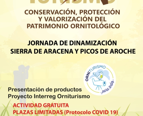 Jornada de dinamización. Presentación de productos Proyecto Interreg Orniturismo en Aracena(23/09/2020)