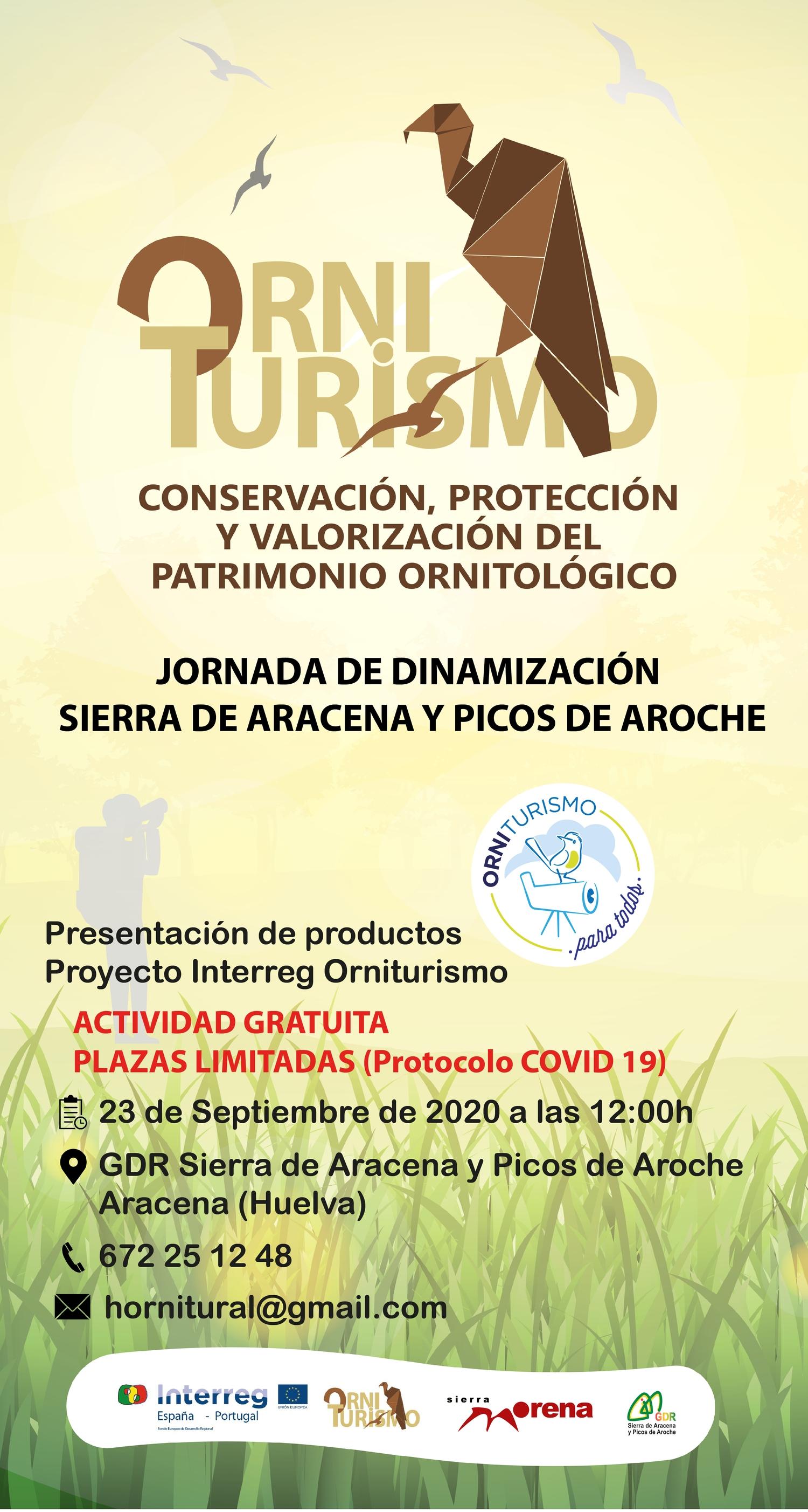 Jornada de dinamización Sierra de Aracena y Picos de Aroche en Aracena (23/09/2020)