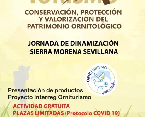 Jornada de dinamización. Presentación de productos Proyecto Interreg Orniturismo en Cazalla de La Sierra (23/09/2020)