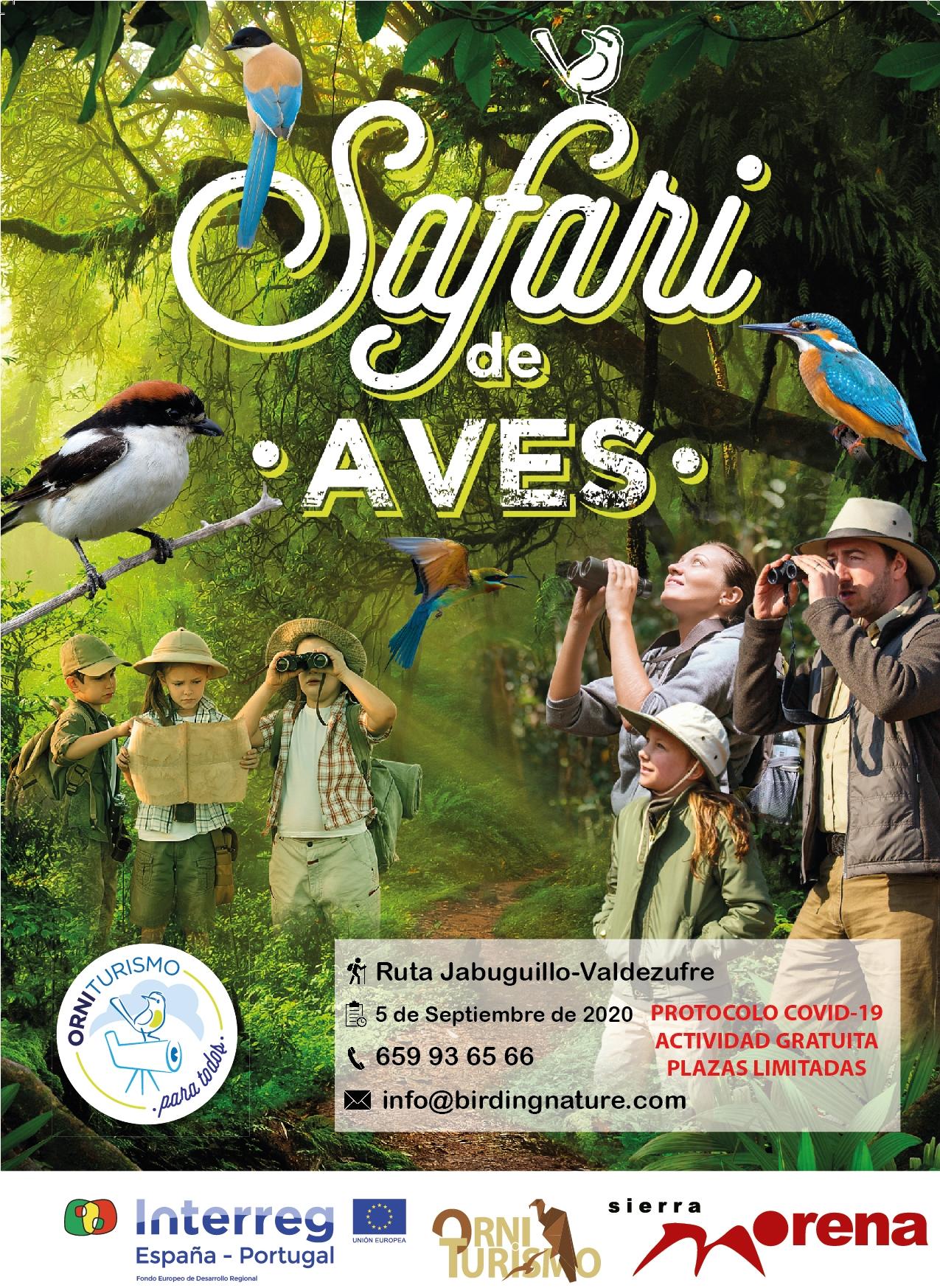 Safari de Aves. Ruta Jabugillo-Valdezufre (05/09/2020)