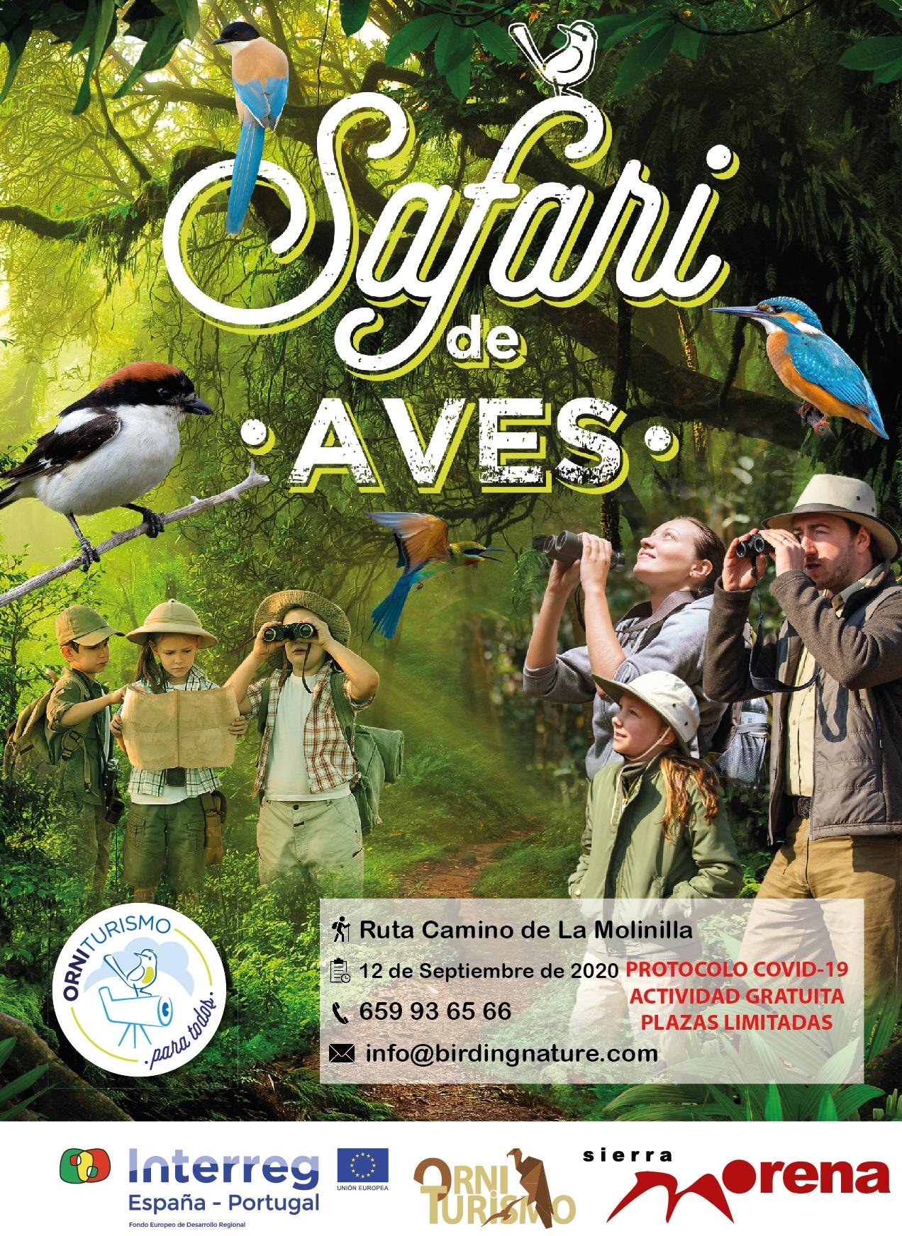 Safari de Aves. Ruta Camino de La Molinilla (12/09/2020)